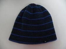 Quiksilver Checkstart Blue Cuff Beanie Hat Sz One Size