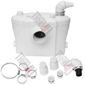 Hebeanlage SEHR LEISE NEUES model! FÄKALIEN pumpe  Abwasserpumpe WC mit Filter