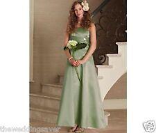 Dress Bolero Jacket Age 10 BHS Francesca Pistachio Green Satin Bridesmaid