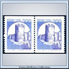 1981 Italia Castelli Bobina Coppia L 200 n 1530A Bobine