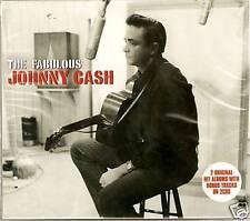 THE FABULOUS JOHNNY CASH - 2 CD BOX SET