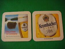 Beer Bar Coaster ~ KROMBACHER Pils ~ Enjoy the Natural & Pure Taste ~ #1 GERMANY