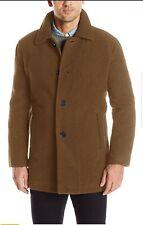 "Cole Haan Signature Mens Brown Coat.Size Medium RRP £235. 50% wool. Ch 46"" L 36"""