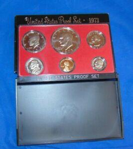 """Rare"" 1973 ""S"" U.S. Mint Proof Coin Set"