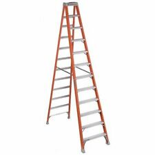 Louisville Fs1512 12 Ft Fiberglass 300 Lb Capacity Stepladder Ia