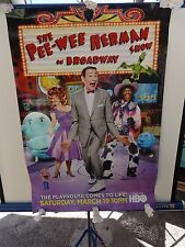 HBO Movie - The Pee-Wee Herman Show on Broadway - 2011 Promotional Poster 27x39