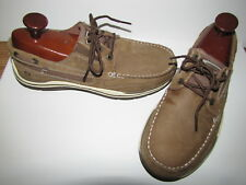 Skechers Brown Relax Fit Memory Foam Loafers Mocs - 9.5 Euro 42.5 EUC