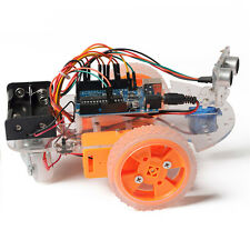 Yes Starter Learning Ultrasonic Smart Car Robot Kit For Arduino Y2R3 Intelligent