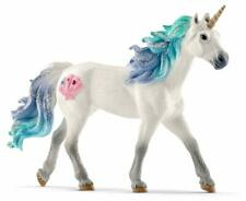 Magical Sea Unicorn Mare Toy Figurine Kids Cake Topper Toy Decor Plastic Figure