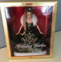 2006 Holiday Barbie By Bob Mackie - New In Box!