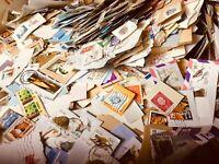 1500 Briefmarken  aus der ganzen Welt, Briefe und Blöcke - solange Vorrat reicht