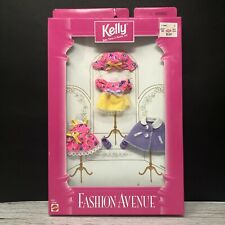 Kelly Fashion Avenue Collection 1997 Dress Pink Purple Clothing Barbie Doll