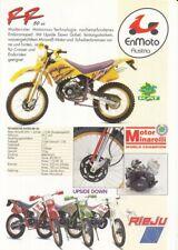 P + RIEJU 50 RR / Drac / RS 1 / Windy + Prospekt brochure + 4 Seiten + aus 1993?