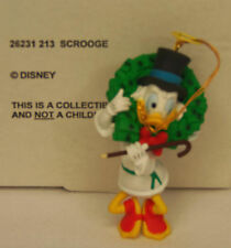 Groiler Disney UNCLE SCROOGE McDuck Christmas Magic Ornament #213 MINT in BOX
