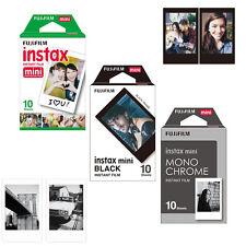Fujifilm Instax Monochrome + Black + White Film 30 Photos Fuji Mini Instant Film