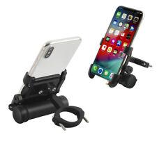 Fahrrad Handy- / Smartphone-Halterung aus Aluminium mit integrierter Powerbank