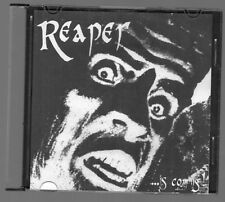 REAPER ...Is coming demo cd  Cult of the Fox sweden Cross Bow heavy metal rare