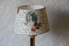 zauberhafter Lampenschirm Aufsteckschirm Stoff      Neu       021510