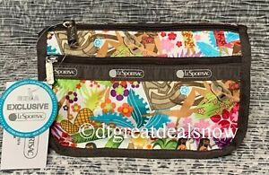 NWT LeSportsac Travel Cosmetic Bag Sweet Wahine Hawaii Exclusive 7315 K168