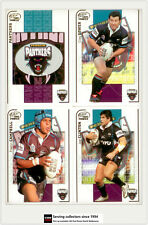 2005 Select NRL Power Series Trading Cards Base Team Set Panthers(12)**
