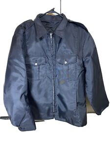 Blauer Navy Blue Police Jacket Size X-Large 48-50 New Made In USA