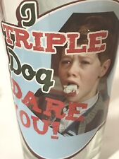 "A CHRISTMAS STORY ""I triple dog dare ya"" Pint Glass Ralphie"