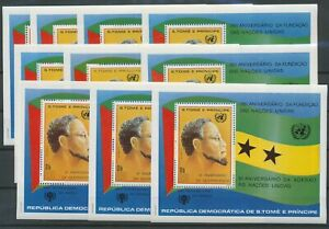 [P888] St Tome 1980 United Nations good sheets very fine MNH (10x)