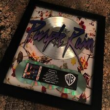 Prince Purple Rain Soundtrack Platinum Record Album Disc Music Award  RIAA