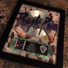 Prince Purple Rain Platinum Record Album Disc Music Award  RIAA