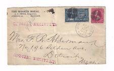 1897 Jonesville Michigan, Special Delivery, E5, Moser Hotel
