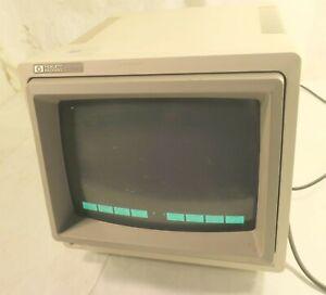 "HP 2392A Display Terminal Monitor 12"" CRT Green"