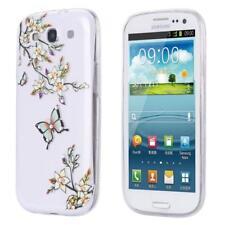 Samsung Galaxy S3 mini i8190 i8200 SLIM TPU CASE STRASS GLITTER CASE COVER CLEAR