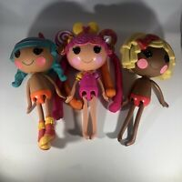 Lalaloopsy Full Size Dolls Lot Of 3