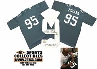 Philadelphia Eagles William Fuller Signed Autographed Green Custom Jersey 100 Sa