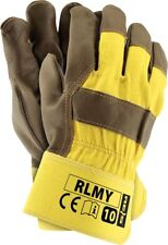 3 Paar Arbeitshandschuhe Handschuhe Lederhandschuhe Leder Top Qualität Gr. 10