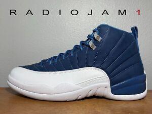 Air Jordan 12 Retro Indigo 130690-404 Men's Size 11.5 New W/Receipt
