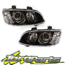 PAIR HEADLIGHTS SUIT VE COMMODORE SERIES 2 10-13 SSV PROJECTOR HEADLAMPS LIGHT