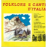 Aa.vv. ‎LP Vinyl Folklore E Canti D'Italia / Wing Record LP Wing 1 New