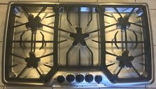 "Thermador Masterpiece Series Stainless & Black 5 Star Burner 36"" Gas Cooktop"