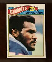 1977 Topps Football #146 Harry Carson RC Rookie NM+