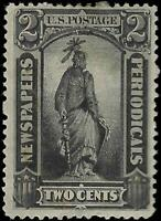 VEGAS -  1879 Newspaper Stamp Sc# PR57 - MH, OG - Crease - EY15