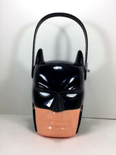 New Marvel Batman Bucket Toy Figure Storage Bin Basket Hero Kids Valentine Gift