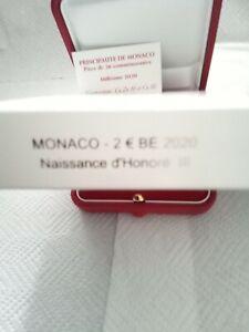 Pièce 2€ Commémorative Naissance D Honoré III BE 2020