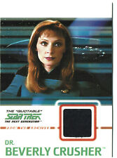 Star Trek TNG Quotable Costume Card C6 Dr. Beverly Crusher BLACK Variant