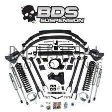 BDS SUSPENSION 2017-2018 FORD F250 F350 8 INCH 4 LINK LIFT KIT FOX SHOCKS LEAFS