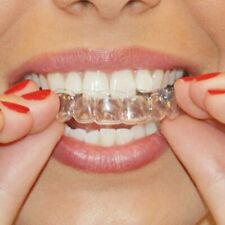 2 pares de termoformado Dental protector bucal dientes blanqueamiento bandejas