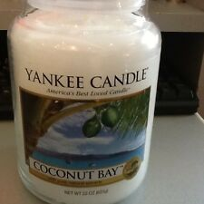 yankee candle coconut bay USA fresh large candle
