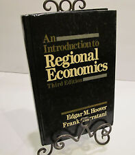 An Introduction to Regional Economics by Frank Giarratani Edgar M. Hoover #2149