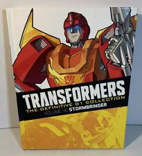 TRANSFORMERS - DEFINITIVE G1 COLLECTION - VOLUME 36 STORMBRINGER Graphic Novel