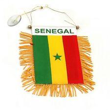 SENEGAL flag automobile rearview mirror or window flag car Home Senegal pride